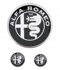 Alfa Romeo Badge Set For Alfa Connect / DNA-Manettino