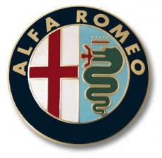 Alfa Romeo Glue-On Badge For The Boot Lid