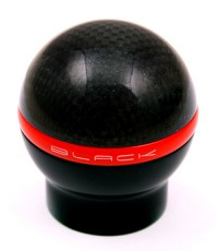 Black Gear Lever Knob Carbon Nero S