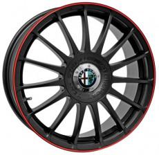 Rim Monza GT Racing Black / Coloured Edge