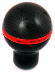 Black Gear Lever Knob Carbon Nero