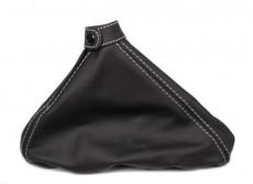 Leather Handbrake Lever Boot Nero