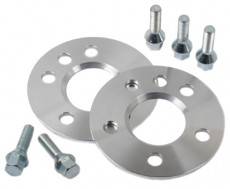 Wheel Spacer 2x 5 mm Incl. Wheel Bolts