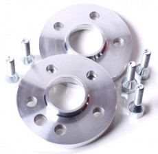 Aluminium Wheel Spacer 2x 12 mm Incl. Bolts