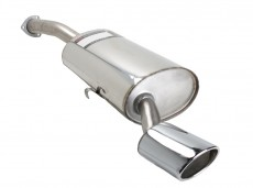 CSC Stainless Steel Rear Silencer 115x85