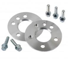Aluminium Wheel Spacer 2x 5 mm Incl. Bolts