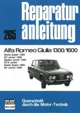 Reparaturanleitung Alfa Romeo Giulia 1300-1600
