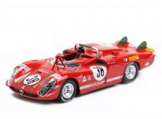 Alfa Romeo 33.3 Spider Le Mans 1970 Zeccoli / Facetti