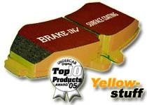 Alfa 4C EBC Yellowstuff Sport Brake Pads - Rear