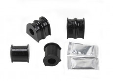 Black Series PU Bushes Set For Anti-Roll Bar - Front Axle
