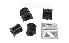 Black Series PU Bushes Set For Anti-Roll Bar Front Axle