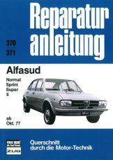 Reparaturanleitung Alfasud 10/1977 bis 1982