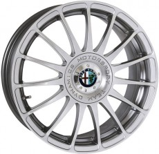 17 Rim Set Monza GT Silver