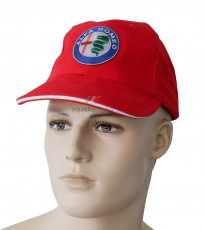 Alfa Romeo Baseball Cap - Red