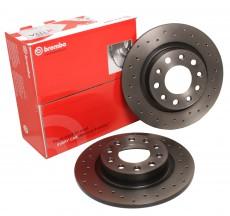 Brembo Brake Disc Set Xtra - Rear