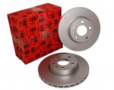 OE Alfa 164 Q4 Brake Disc Set - Rear