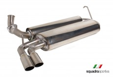 CSC Alfa 164 Q4 Stainless Steel Rear Silencer 2x60
