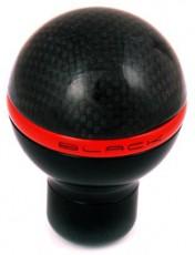 Black Gear Lever Knob Carbon Nero