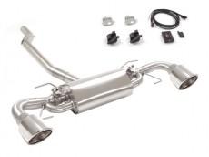 Ragazzon Stainless Steel Flap Rear Silencer 129 Sport