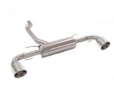 Ragazzon Stainless Steel Double-Rear Silencer 129 Sport