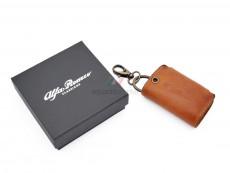 Alfa Romeo Classiche Leather Key Case
