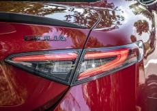 Alfa Giulia Rear Lights Set - Dark Tinted