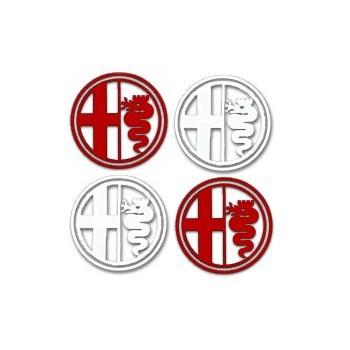 alfa romeo emblem aufkleber alfa romeo shop tuning. Black Bedroom Furniture Sets. Home Design Ideas
