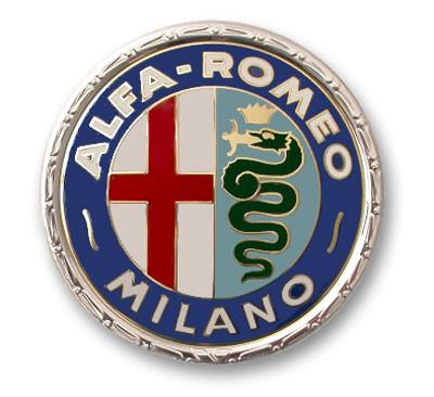 Alfa Stickers >> Alfa Romeo Milano Emblem 1960 - 1972 - Alfa Romeo Shop - Tuning, Styling, Fanartikel und Modellautos