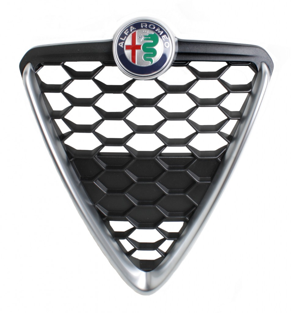 Scudetto MY 2016  7962 on alfa romeo spider veloce badge