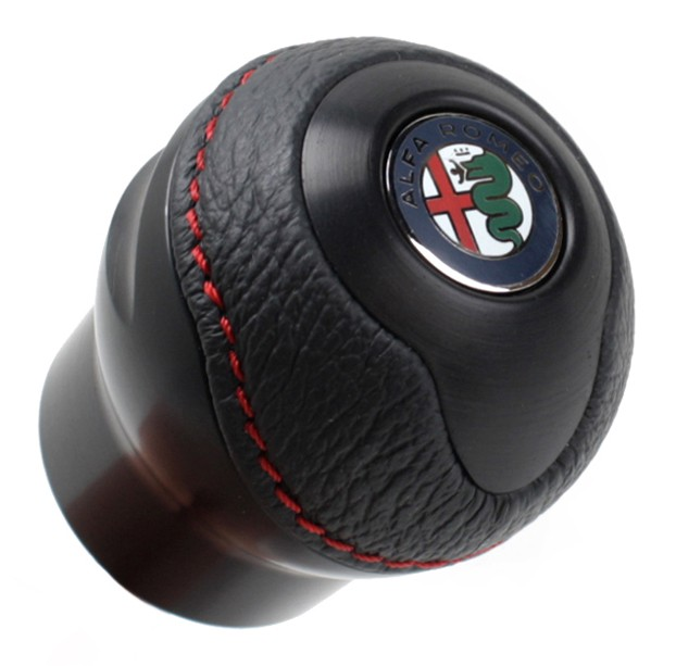 Alfa romeo badge black 10