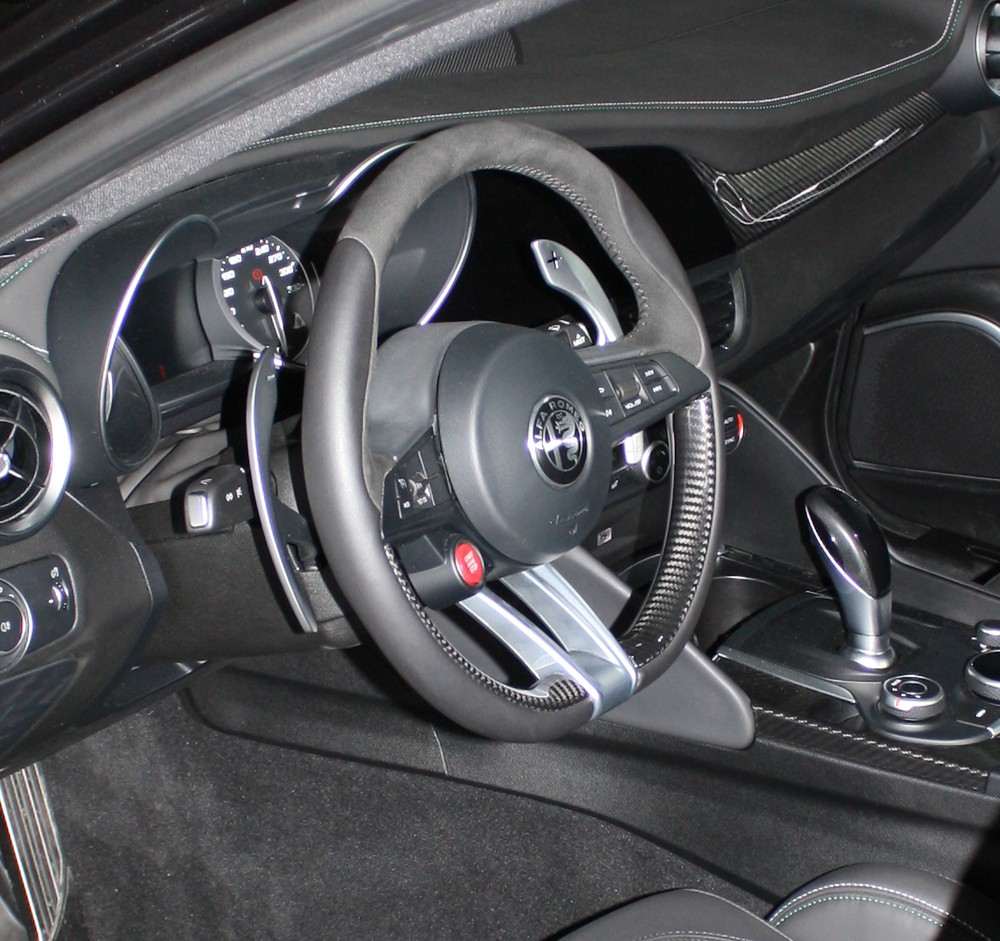 Alfa Giulia And Stelvio Stop Start Button Romeo Shop Steering Box Red