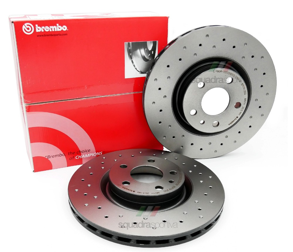 Brembo Brake Disc Set 'Xtra'