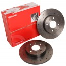 Brembo Brake Disc Set 'Xtra' - Rear