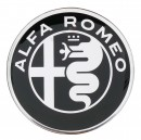 Alfa Romeo Badge 2015 Wheel Sticker Black/Silver