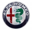 Alfa Romeo Glue-On Badge For The Boot Lid